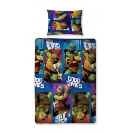 Official Teenage Mutant Ninja Turtles Dudes Single Duvet Cover - Buy Stock