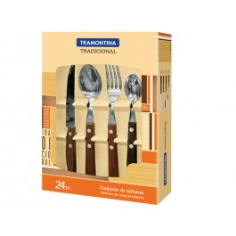 Tramontina 22299/050 Tradicional 24 Piece Cutlery Set - New Wholesale Stock