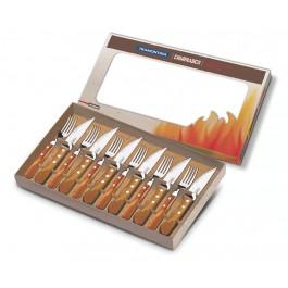 Tramontina Churrasco 12 Piece Steak Knife Cutlery Set Polywood - New