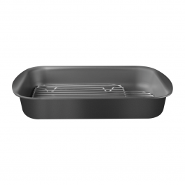 Tramontina Oven Roasting Pan With Grill 34cm & 40cm