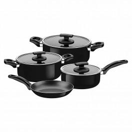 Tramontina Toronto 7 Piece Cookware Set In Black 20499/032