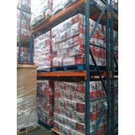 pallets of haden vacuum cleaners