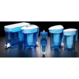 zerowater water filter purifier product range