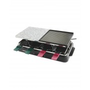 Ambiano Electric Raclette Grill Granite Stone Hot Plate 1400W