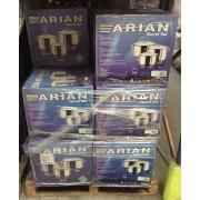 arian novel 3 piece heavy gauge casserole dish pot set s/steel stock