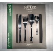 george butler 16 piece genova cutlery set