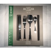 george butler 24 piece atlantis cutlery set