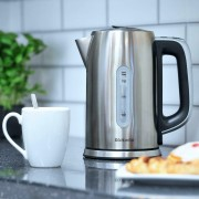Brabantia Cordless Digital Kettle Temperature Control 2.4kW 1.7L Brushed S/Steel