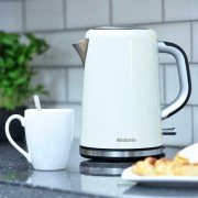 Brabantia Cordless Jug Kettle 1.7L 3kW Stainless Steel In Cream