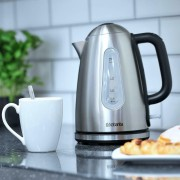 Brabantia Cordless Pyramid Jug Kettle 1.7 Litre 3kW In Brushed Stainless Steel