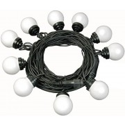 Brennenstuhl 10 x Multi-Coloured Bulb LED Party Chain Lights 1175293