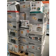 breville electrical appliance returns pallets containing toasters
