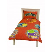 Official Chuggington Traintastic Single Duvet Cover - Buy Clearance Stock