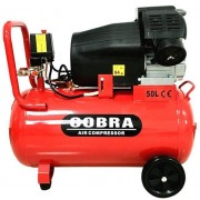 Cobra V Twin Air Compressor 50 Litre - New Wholesale Power Tool Stock