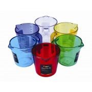 Colours PJUG-1L Measuring Jug Assorted Colours 1 Litre