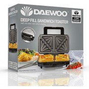 Daewoo Deep Fill Sandwich Maker