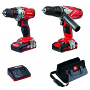 Einhell 4257200 Cordless Combi & Drill Driver Twin Pack