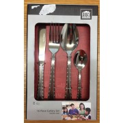 House & Home Deluxe 16 Piece Cutlery Set S/Steel - New Excess Stock