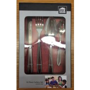 House & Home Deluxe 16 Piece Cutlery Set S/Steel - New Clearance Stock