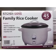 kitchen genie large rice cooker