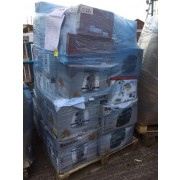 breville electrical appliance returns pallets containting fryers