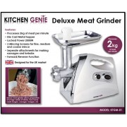 Kitchen Genie Deluxe Meat Grinder 2000W - New Stock