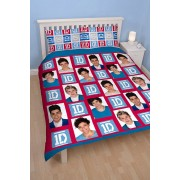 Official One Direction Craze Double Duvet Covers - Buy Clearance Stock
