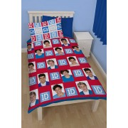 Official One Direction Craze Single Duvet Cover - Buy Clearance Stock