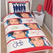 Official One Direction Memorabilia Single Duvet Cover - Buy Bedding Stock