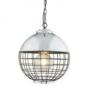 Pagazzi PG14757 Kruger Pendant Ceiling Light Polished Chrome