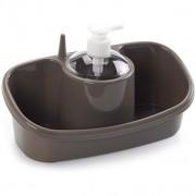 PlasticForte 1154334 Dishwashing Dispenser Organiser - New Wholesale Stock