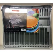 PlasticForte Dish Drainer With Tray - New Wholesale Stock