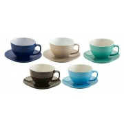 Price & Kensington Rockingham Coffee Cup & Saucer Set 6 Pack