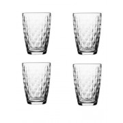 Ravenhead Essentials 4 Piece Jewel Glass Highball Tumbler Set 380ml