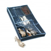 rayen 2385.60 shoe storage tidy case blue