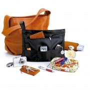 rayen 6093 handbag organiser in black