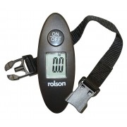 Rolson 60677 Digital Luggage Scale 40kg 88lb With Strap