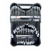 Tools XP 32 Pc Metric SAE Imperial Ring Spanner Set Tool Kit