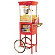 SMART Old Fashioned Movie Time Popcorn Cart - New Wholesale Stock