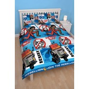 Official Star Wars Rebels Tag Double Duvet Cover - Wholesale Clearance Stock