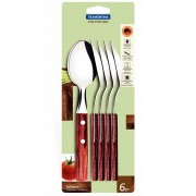 Tramontina 6 Piece Table Spoon Set Polywood 21103/670 - New