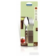 Tramontina 6 Piece Tea Spoon Set Polywood 21107/690 - New