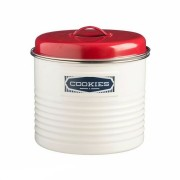 Typhoon Belmont Large Storage Tin Caddy Canister Steel 3.65L