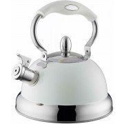 Typhoon Living Stovetop Whistling Kettle Gas Hob 2.5L Cream