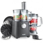 VonShef 500W Food Processor Matte Black