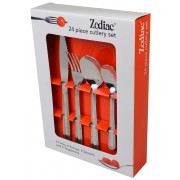 Zodiac 38124 24 Piece Value Cutlery Set Stainless Steel