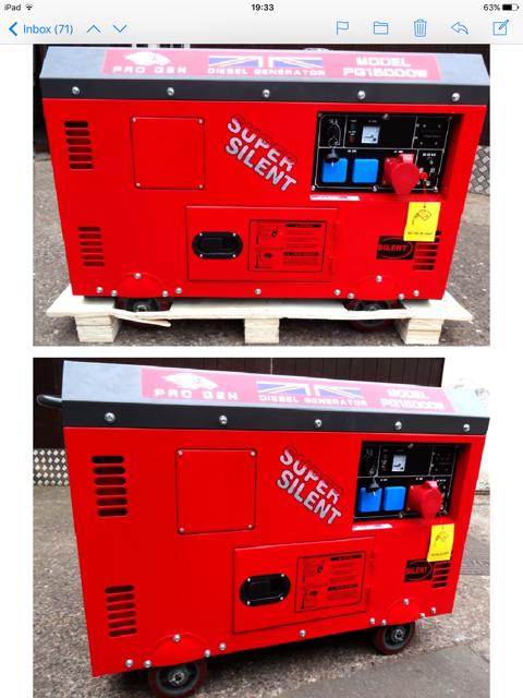Branded Housewares Pro Gen Diesel Power Generators 5