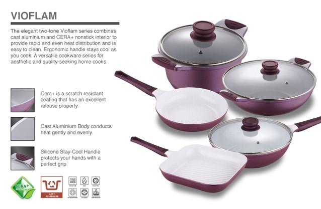 Bergner Vioflam Cookware
