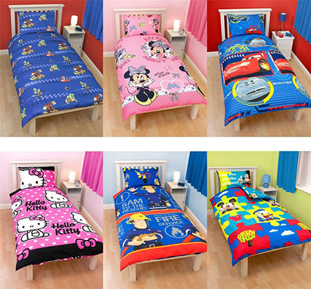 Buy wholesale clearance stock pallets of children's bedding