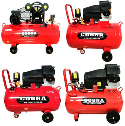 wholesale stock loads of Cobra air compressors for sale